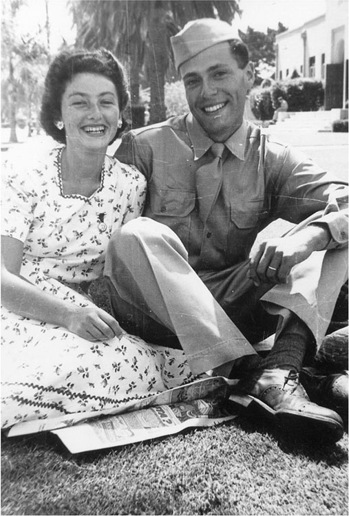 Fig. 2.  Albert Hirschman and his wife Sarah just before he was dispatched to North Africa, circa 1943.