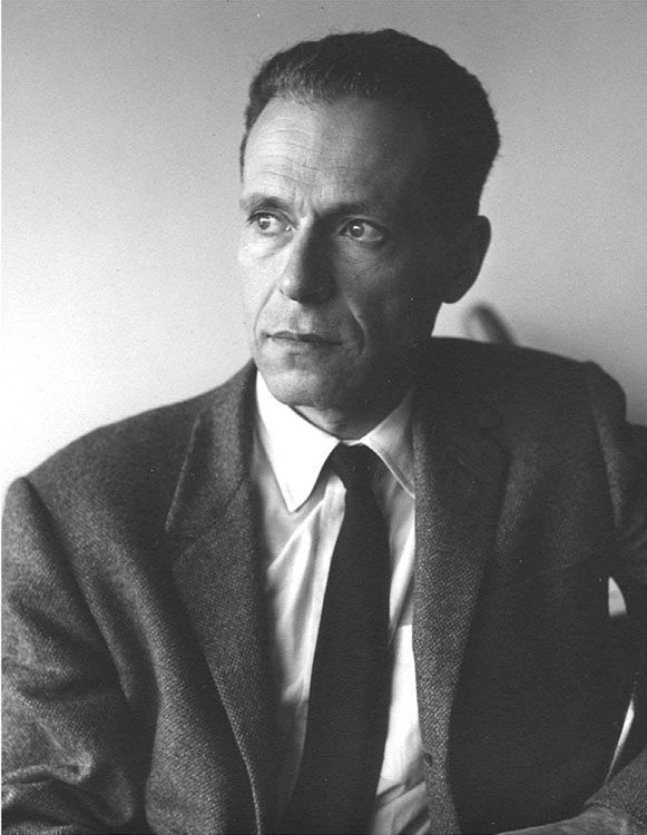 Fig. 4.  A portrait of Hirschman by the Colombian photographer Hernán Díaz, taken in Bogotá as Hirschman was working on Journeys toward Progress: Studies of Economic Policy-Making in Latin America (1963).