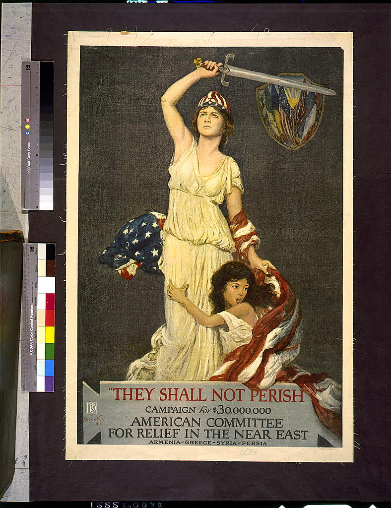"Douglas Volk, ""They shall not perish,"" 1918 (LOC)"