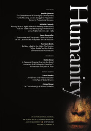 Cover of Humanity 11.3